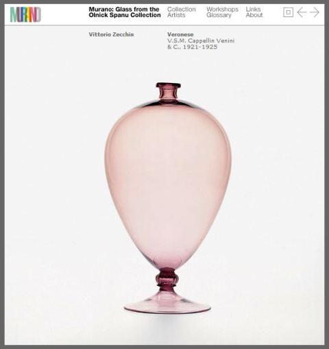 Vittorio Zecchin - coleção Olnick Spanu