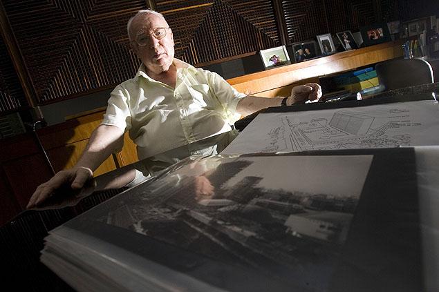 David Libeskind 1928-2014 foto: Danilo Verpa 17.fev.2008/Folhapress