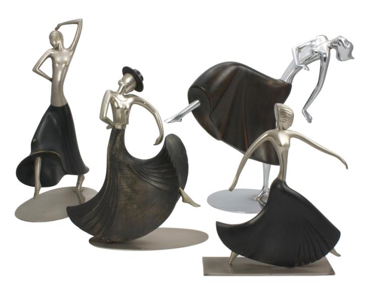 bailarinas Hagenauer - coleção Ana Carmen Longobardi
